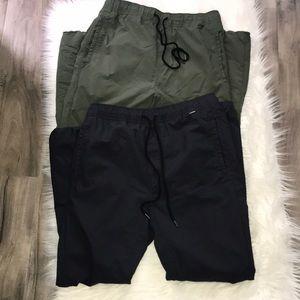 Men's Hurley Nike Dri Fit joggers. Size small